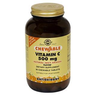 Vitamina C com Sabor a Laranja