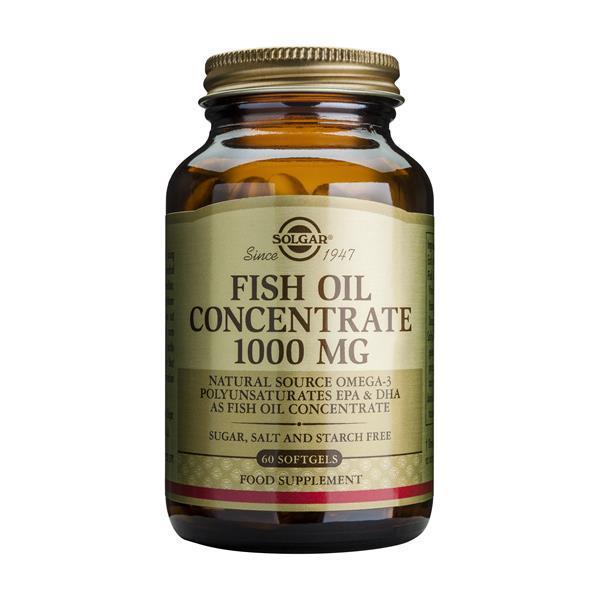 Óleo de Peixe Concentrado 1000 mg