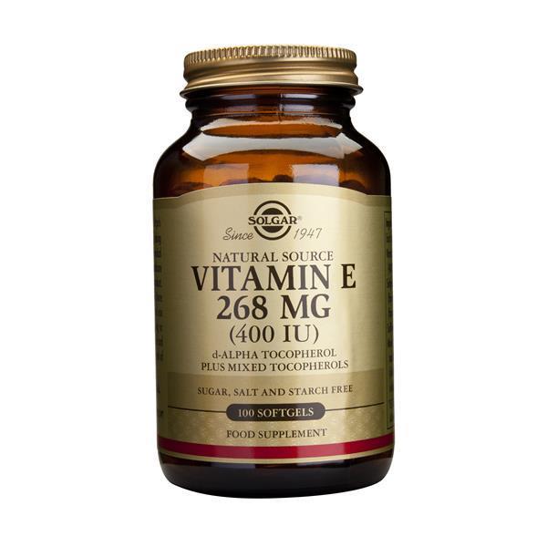 Vitamina E 268 Mg (400 Ui)Forma Oleosa