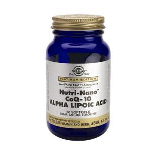 Nutri-Nano Coq-10 e Ácido Alfa-Lipóico