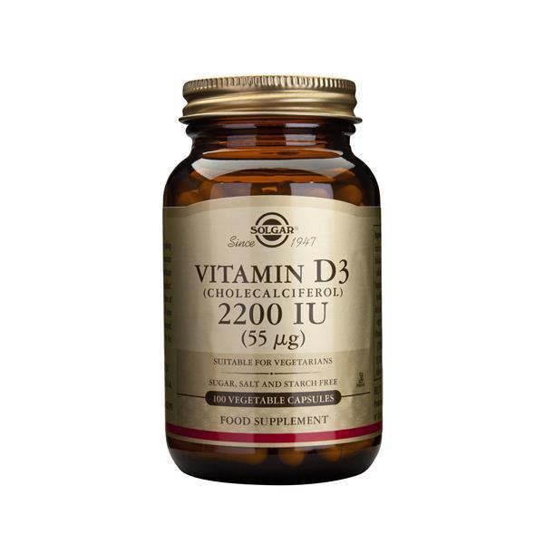 Vitamina D3 2200 Ui (55 µg)