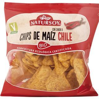 Tiritas de Milho e Chili Bio