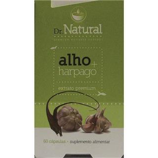 Suplemento alimentar Alho+Harpago