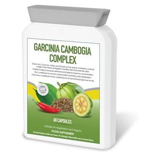 Cápsulas de garcinia cambogia e outras plantas