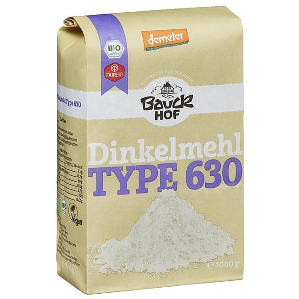 Farinha de trigo espelta tipo 630 bio