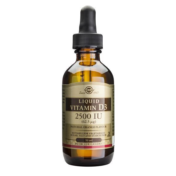 Vitamina D3 2500 UI Líquida