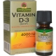 Vitamina D3 Gotas 4000UI