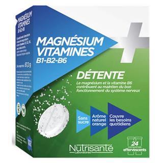 Magnesio + Vitaminas Complexo B