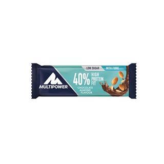 Barra Proteica com Chocolate de Leite e Amêndoas