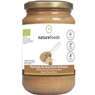 Manteiga de amendoim biológica