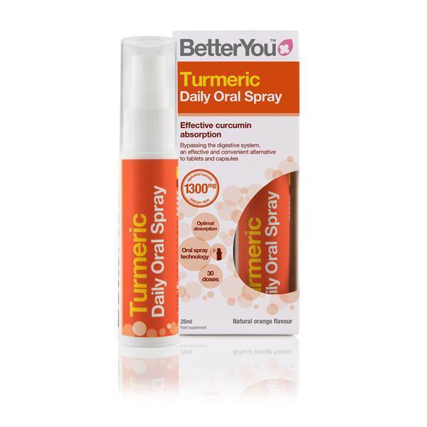 Turmeric spray oral