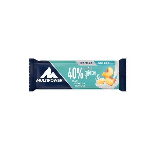 Barra proteica 40% pêssego iogurte
