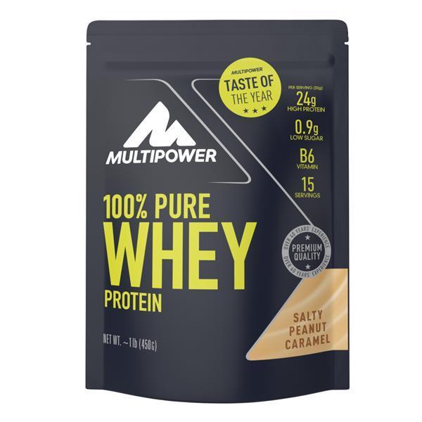 Pure Whey Protein Sabor Amendoim e Caramelo salgado