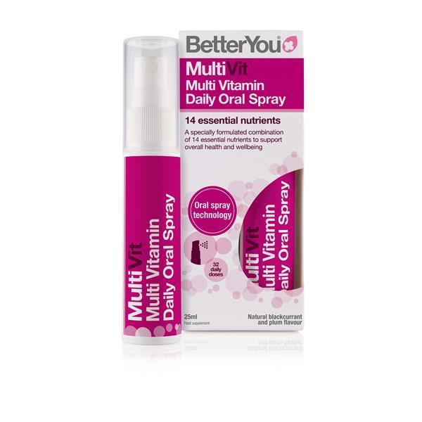 Multivitamínico mineral spray oral diário