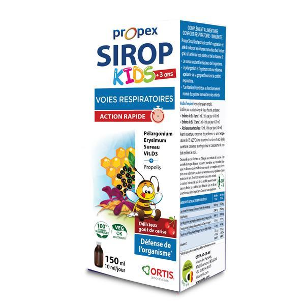 Propex kids xarope - crianças + 3 anos