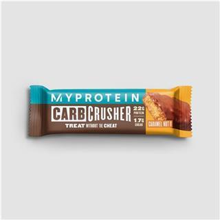 Barra proteica Carb Crusher sabor caramelo